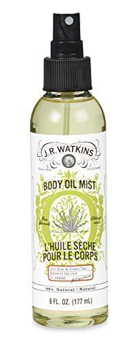 J.R. Watkins Body Oil Mist, Aloe & Green Tea, 6 - Aloe Mist Body