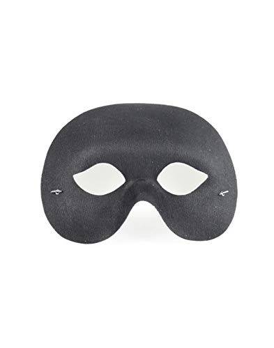 Forum Novelties 60824 1/2 Value Cocktail Mask, Black by Forum Novelties