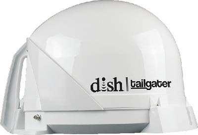 DISH VQ4400 Tailgater Portable/Roof Mountable Satellite TV Antenna (for use with ()