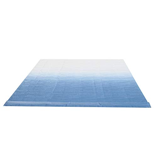 ALEKO RVFAB20X8BLUE24 RV Awning Fabric Replacement 20 x 8 Feet Blue Fade