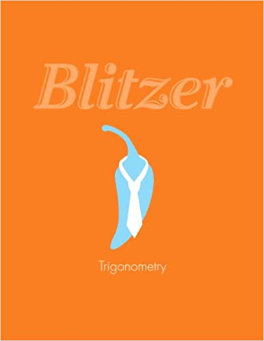 Amazon trigonometry 9780321795915 robert f blitzer books trigonometry 1st edition by robert f blitzer fandeluxe Choice Image