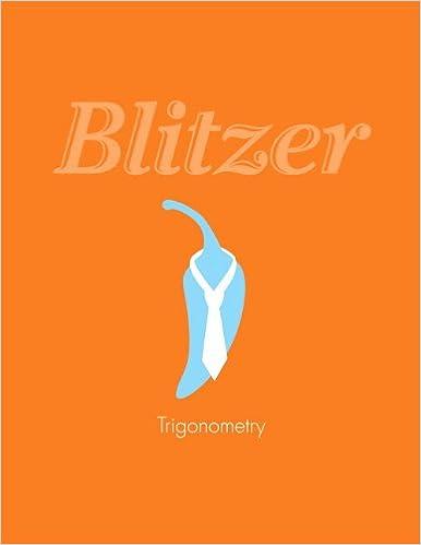 algebra and trigonometry blitzer 5th edition