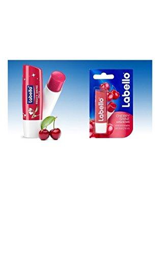 Labello Care Gloss (Labello Cherry Fruity Shine Lip Gloss Balm SPF 10)
