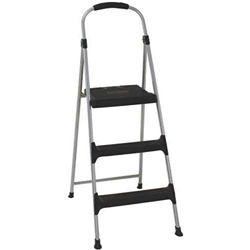 Cosco 11410PBL2 Signature Series Three Step Steel Step Stool with Plastic Steps by Cosco (Image #1)