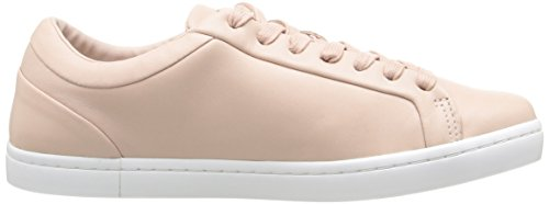 Lacoste Womens Straightset 316 1 Caw Fashion Sneaker Light Pink