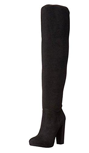 Jessica Simpson Women's Grandie Winter Boot, Black/Black, 7.5 M - Jessica 2016 Simpson