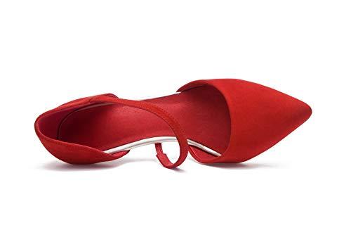 Compensées 5 APL11090 BalaMasa Red Femme Sandales Rouge EU 36 0pgnag