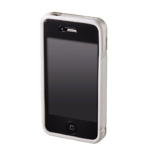 Hama TPU Combi Case Handytasche für Apple iPhone 4 weiß
