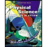 Physical Science: Concepts in Action, Michael Wysession, David Frank, Sophia Yancopoulos, 0130699837