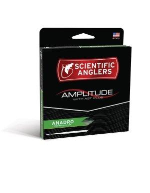 (SCIENTIFIC ANGLERS AMPLITUDE ANADRO TAPER - TURTLE GRASS / WILLOW / OPTIC GREEN, WF-4-F)