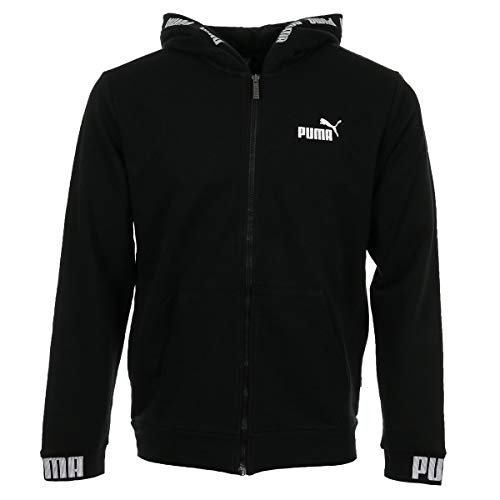 Puma Amplified Fit Uomo Felpe Nero Fullzip FrqSF