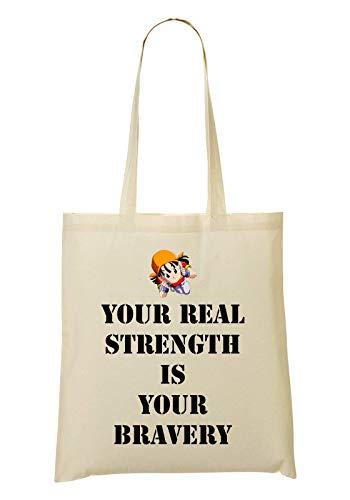 Mano Bolsa De Your Real La Compra Is Your Pan Strength Bolso Bravery De vA86Wzqw