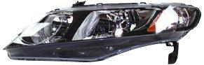 Tyc Honda Civic Driver (TYC 20-6734-91 Honda Civic Driver Side Headlight Assembly)