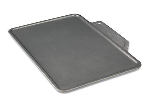 All-Clad J2574364 Pro-Release cookie sheet, 17 In x 11.75 In x 1 In, Grey Aluminized Steel Cookie Sheet