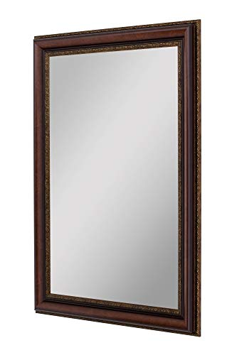 Second Look Mirrors Polynesian Coco Brown Gold