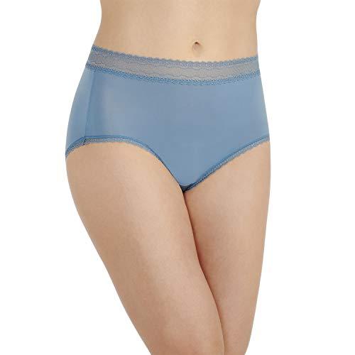 Vanity Fair Women's Flattering Lace Brief Panty 13281, INDIGOGO, X-Large/8