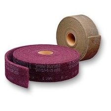 3m Abrasive 048011-00302 ''Scotch-brite'' Clean and Finish Roll a Crs - 4''x30ft by 3M