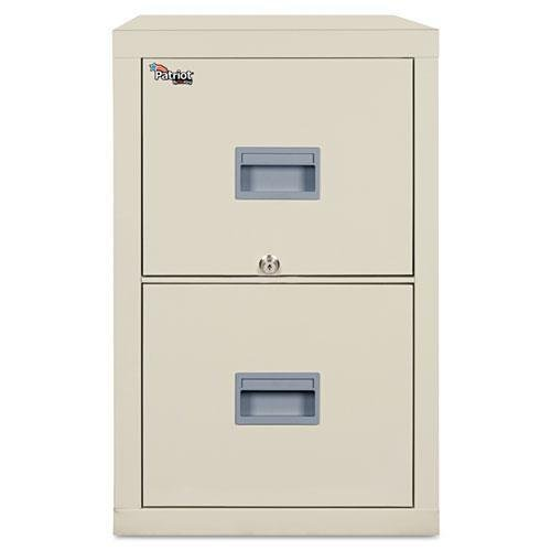 FireKing 2P1831CPA Patriot Insulated Two-Drawer Fire File, 17-3/4w x 31-5/8d x 27-3/4h, Parchment