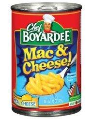 - Chef Boyardee Mac & Cheese 15oz (Pack of 12)
