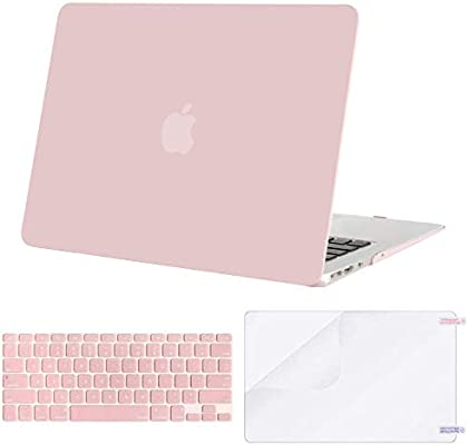 MOSISO MacBook Air 13 inch Case Older Version 2010-2017 Release A1369 A1466 Light Purple Plastic Hard Shell Case /& Keyboard Cover Skin /& Wipe Cleaning Cloth Only Compatible with MacBook Air 13 inch