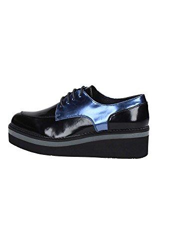 Chaussures à 37 BLUE Lacets LEF131 CafèNoir Femme SqBAWA