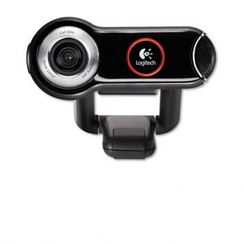 Digital Webcam Pro Quickcam - Logitech® QuickCam® Pro 9000 Webcam CAMERA,QC PRO 9000,BK 62153 (Pack of2)