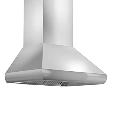 ZLINE 36 in. 1200 CFM Wall Mount Range Hood in Stainless Steel (687-36)