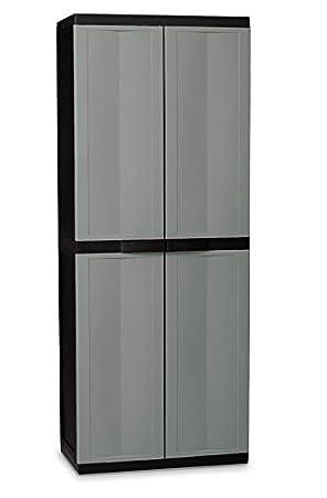 Enjoyable Kingfisher Scfull Large Garden Storage Cabinet White Download Free Architecture Designs Terstmadebymaigaardcom