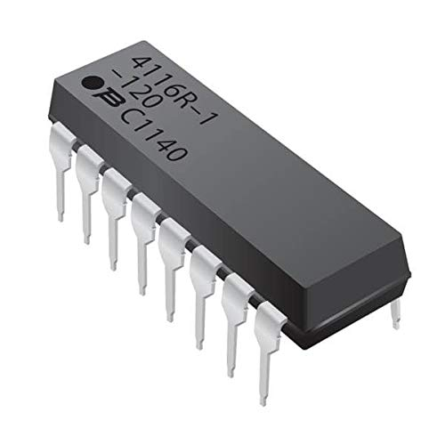 Resistor Networks Arrays 16pin 180Kohms Isolated Low Profile - Pack of 100 ()