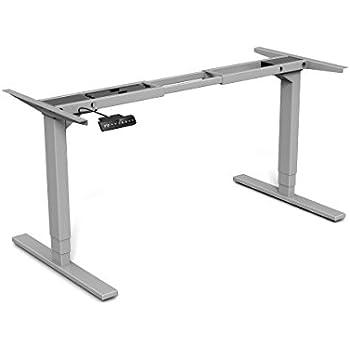Amazon Com Vivo Electric Stand Up Desk Frame W Dual