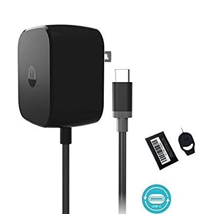 Motorola TurboPower 30 USB-C / Type C Fast Charger - SPN5912A for Moto Z
