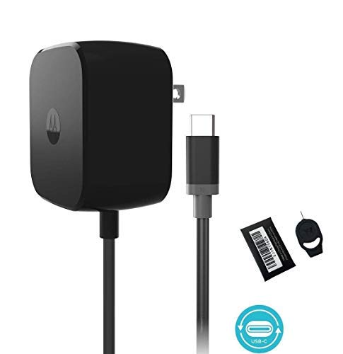Motorola TurboPower 30 USB-C / Type C Fast Charger - SPN5912A for Moto Z Force with SIM Ejector (Battery New 2 Oem Nokia)
