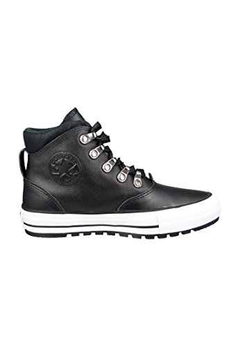 Converse Leather Boot Mid lining Pinecone Brown 134478C Black Black White Ji4s3r2HKZ