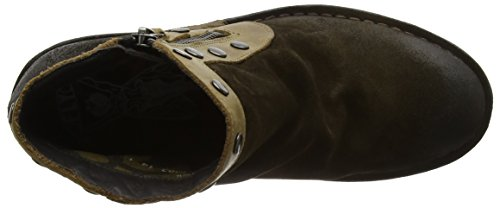 Duke941fly London sludge Marrone Cowboy olive Fly Stivali Donna Da f576wwx