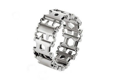 Multi tool bracelet stainless steel