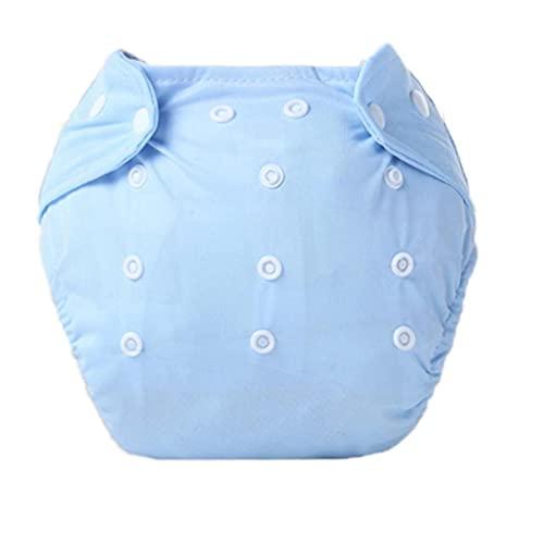 Potty Training Pants Herbruikbare Peuters baby trainingsbroek Doek Washable Learning Diaper Blue