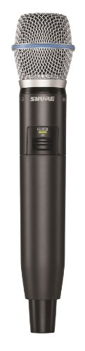 Shure GLXD2/B87A Handheld Transmitter with Beta 87A Microphone, Z2