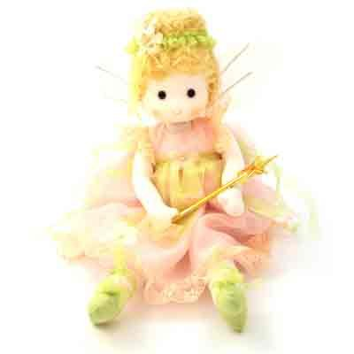 Fairy Plush Doll (Green Tree Products Musical Doll Fairy Princess)