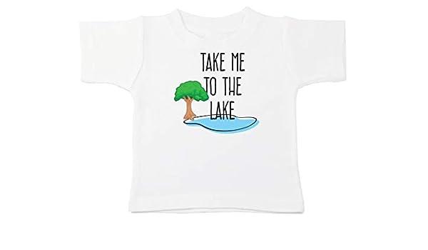 Kinacle Eat Sleep Be Cute Repeat Baby//Toddler T-Shirt