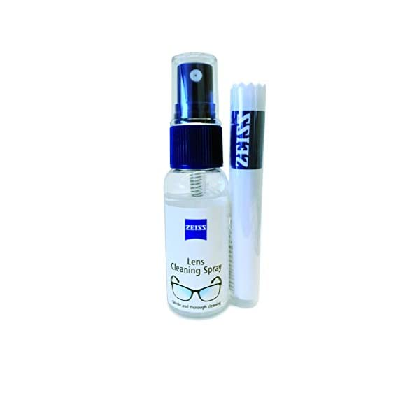 Zeiss Lens Cleaning Liquid Solution with Cloth, Transparent-30 ml (Pack 1)