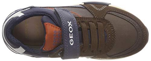 Geox Para D brown Niños J navy Zapatillas Alfier Boy C0947 ZnT7rZp