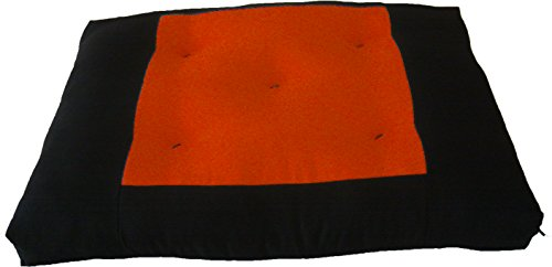 Brand New Central Orange Zabuton, Yoga, Meditation Seat Cushions, Kneeling, Sitting, Supporting Exercise Pratice Zabutons