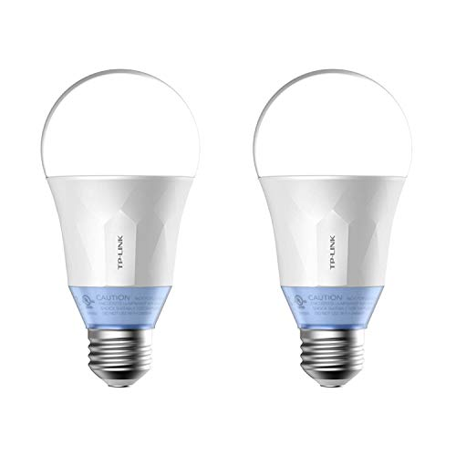 TP-Link Smart WiFi LED 11W Dimmable White Bulb with Voice App Control LB120 (2 Pack)