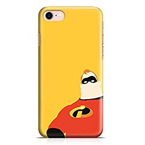 Loud Universe The Hero Inscredibles iPhone 7 Case Minimal Art Incredibles iPhone 7 Cover with 3d Wrap around Edges