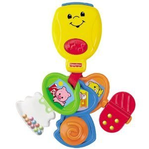 Fisher-Price Brilliant Basics Nursery Rhyme Keys with Different Activities for Babies To Explore