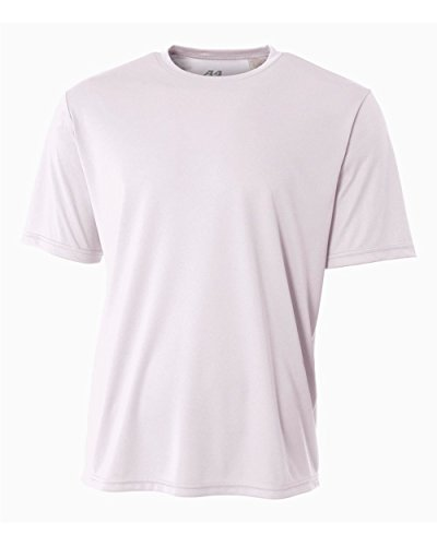 Baseball Undershirt White (Authentic Sports Shop White Adult XL Short Sleeve Wicking Cool & Comfortable Shirt/Undershirt)