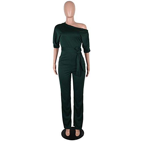 空白過半数コンピューターを使用するKaured Jumpsuits-apparel PANTS レディース