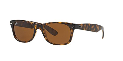 Ray-Ban New Wayfarer Classic, Light Tortoise Frame/Brown - Ray Ban Optical Frames Wayfarer