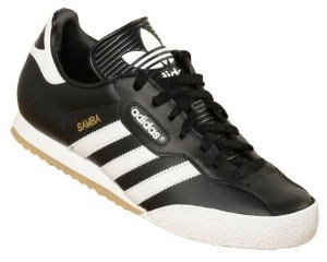 28eccf50ae6cf7 Adidas Samba Super Black White (UK 8.5)  Amazon.co.uk  Shoes   Bags