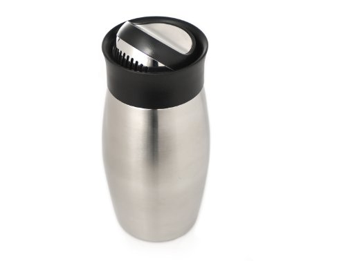 Rabbit Flip Top Cocktail Shaker (16 Ounce, Stainless Steel)